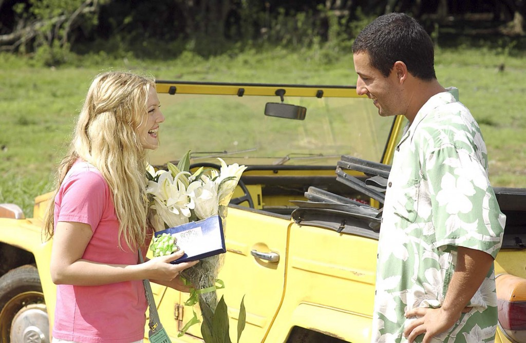 "Drew Barrymore and Adam Sandler star in Columbia Pictures romantic comedy ""50 First Dates."" (AP Photo/ Darren Michaels) ORG XMIT: NY681 ORG XMIT: MER0705071437514436"